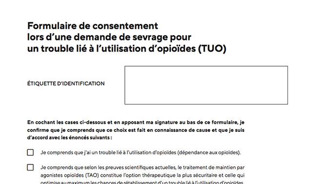 Guide TUO : annexe 4