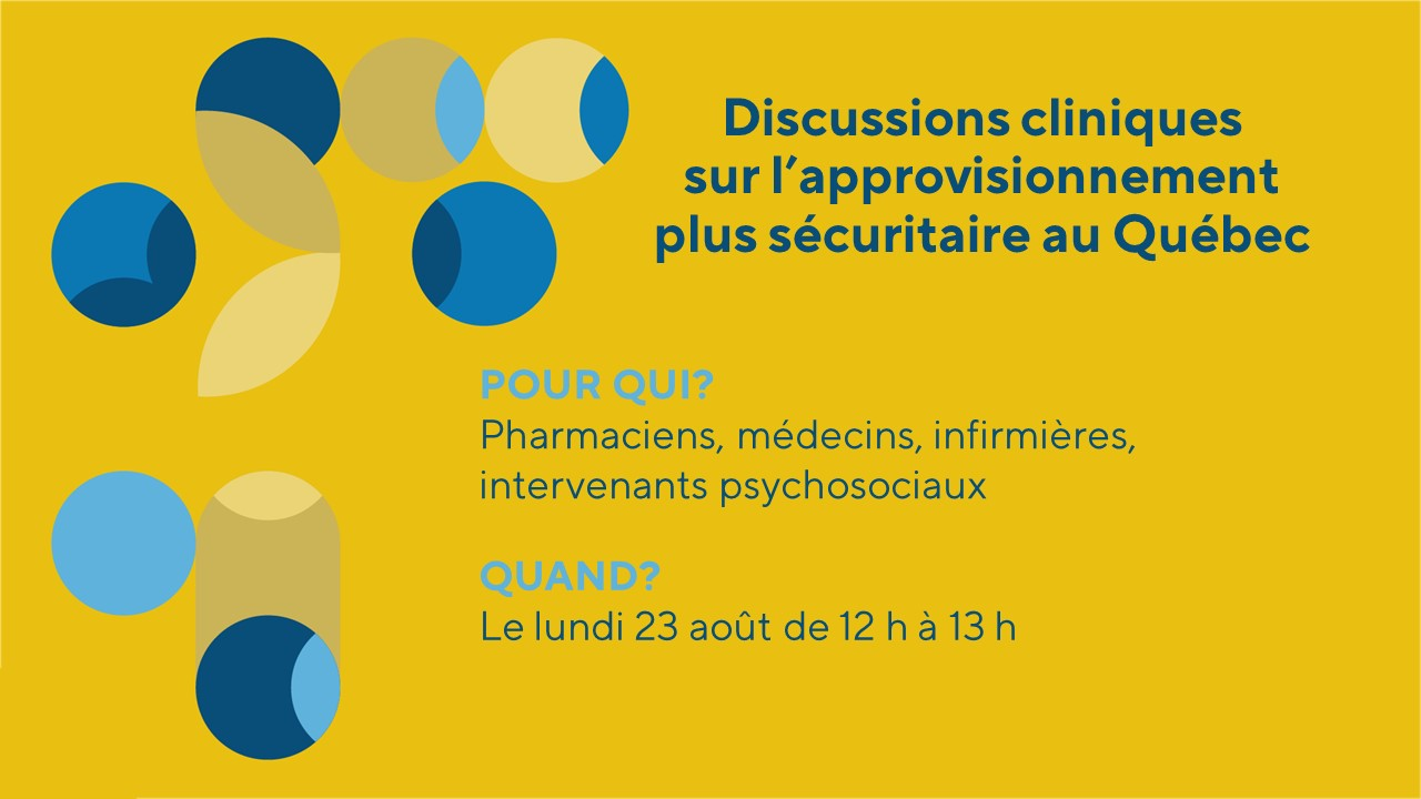 Discussion clinique avec Christophe Tra, M.D. sur l'approvisionnement plus sécuritaire